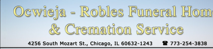 Ocwieja-Robles Funeral Home - Directions
